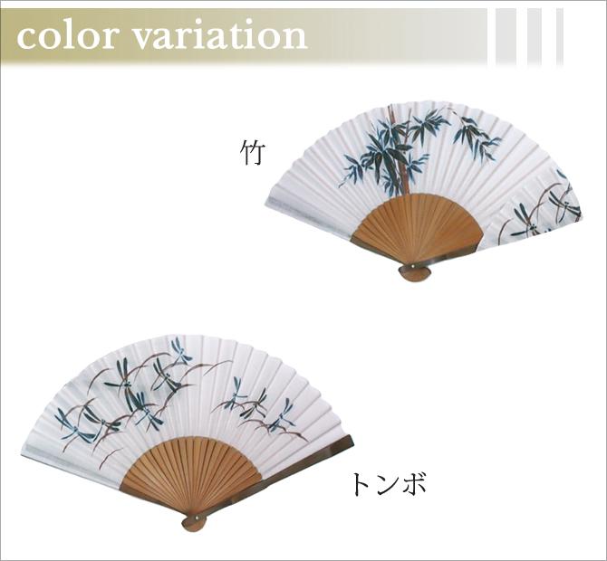 白地 生地貼り 竹 V35401-HN
