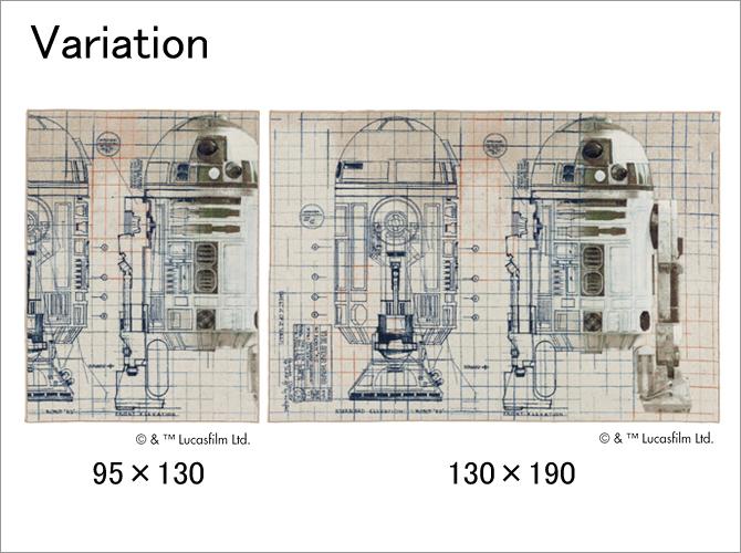スターウォーズ ラグ R2-D2 variation