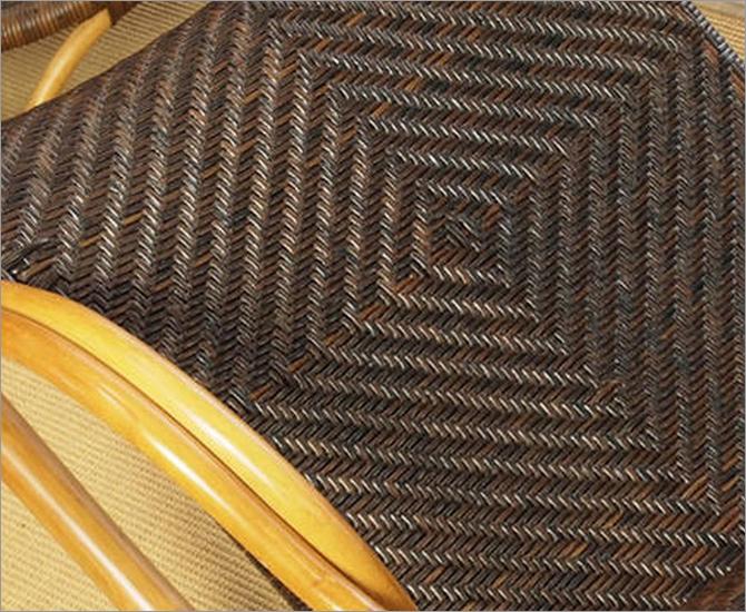 Handmadeシリーズ ラタン手編みロッキングチェア C100CB