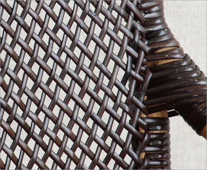 Handmadeシリーズ ラタン手編みチェア C117CB
